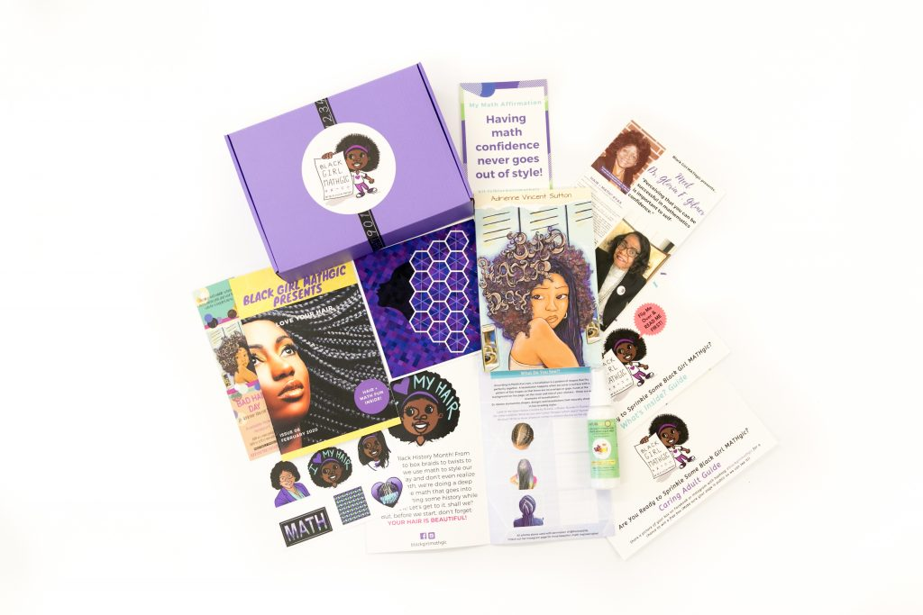 "Black Girl MATHgic February 2020 ""Love Your Hair"" Box"