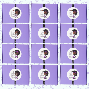picture of 12 black girl mathgic boxes