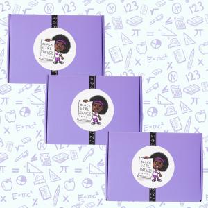 photo of 3 black girl mathgic boxes